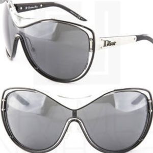 Christian Dior Striking Oversized Sunglasses